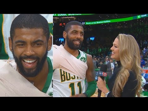 Kyrie Irving Makes Fun Of LeBron James Then Hits On Female Reporter (Parody)
