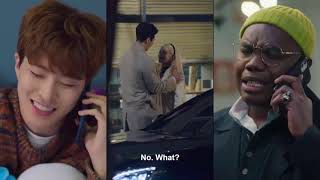 Download youngjae and minnie's kiss scene in so not worth it | netflix