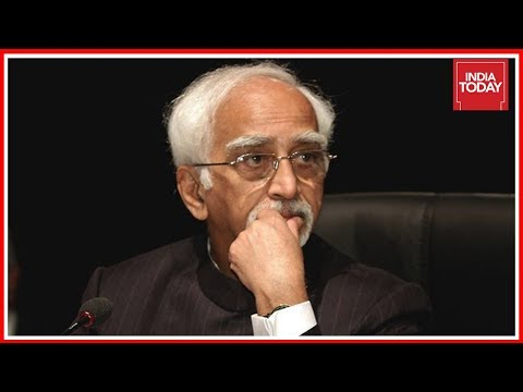 Outgoing VP, Hamid Ansari Warns Of 'Sense Of Insecurity' Creeping In India