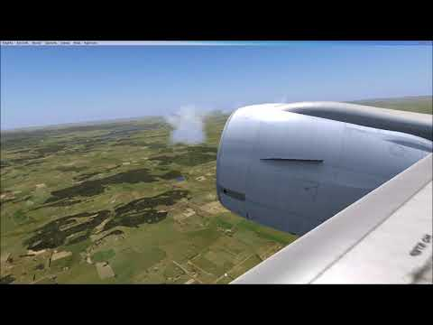 FSX 777 YSCB-NZWN (Canberra to Wellington)
