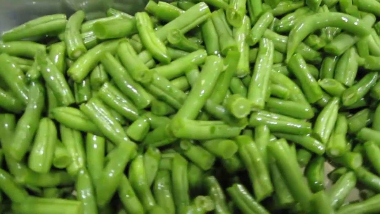 Cut green bean sorting machine Genius - TOMRA Sorting