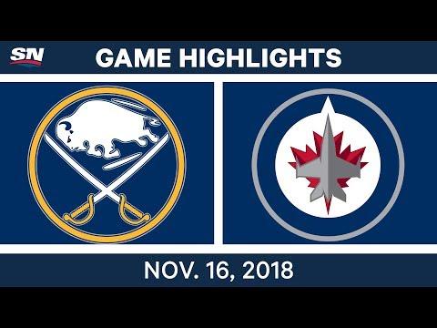 NHL Highlights | Sabres vs. Jets – Nov. 16, 2018