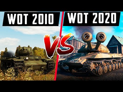 WoT 2020 ПРОТИВ WoT 2010! СТАЛО ХУЖЕ ИЛИ ЛУЧШЕ?