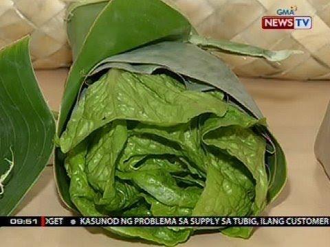 SONA: Dahon ng saging, iminungkahing gawing pambalot ng mga produkto imbes na plastic