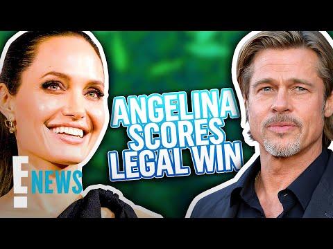 Angelina Jolie's Major Legal Win In Custody Battle With Brad Pitt | E! News