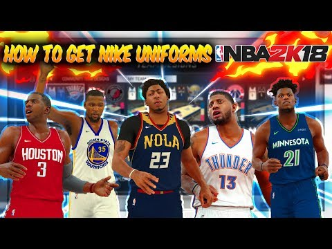 4a2322b030f8 How To Get Nike Jerseys For NBA Teams on NBA 2K17
