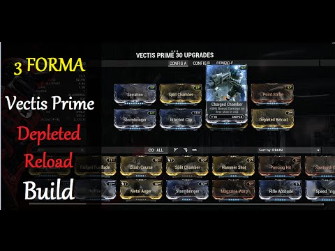 Warframe Vectis Build