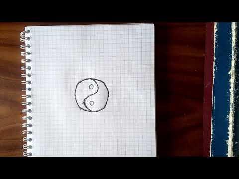 Как нарисовать красивый круг???? Как сделать красивое тату ручкой? Все в этом видео.
