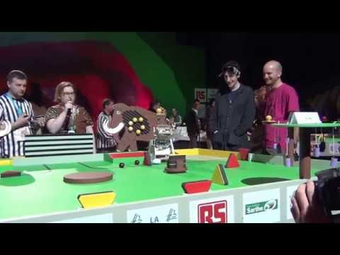 2014 - Toto vs Unitec - Match n°5 - Coupe de France Robotique 2014