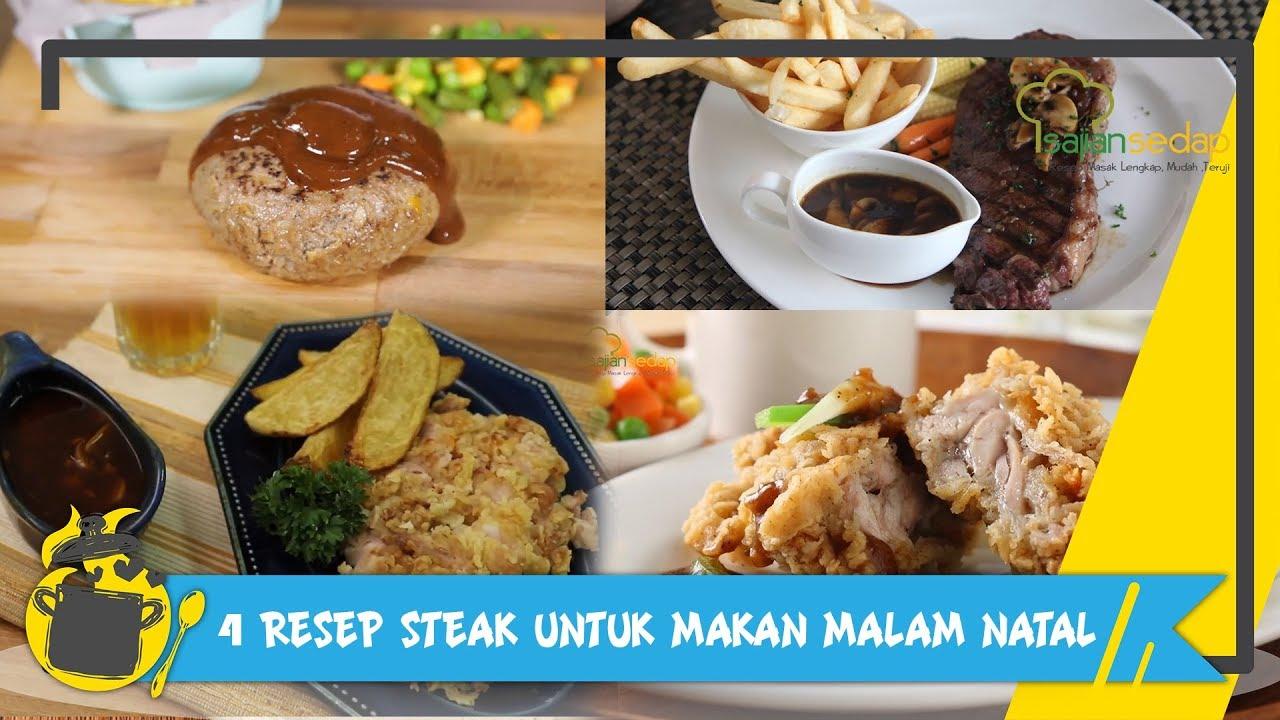 Resep Masakan Natal 4 Resep Steak Untuk Makan Malam Spesial Youtube