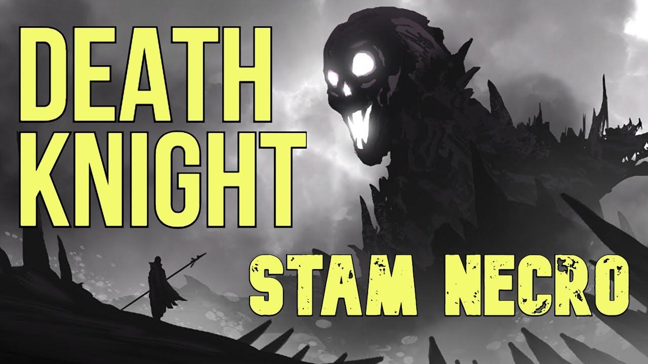 Stamina Necromancer SOLO PVE Build - DEATH KNIGHT - ESO Elsweyr