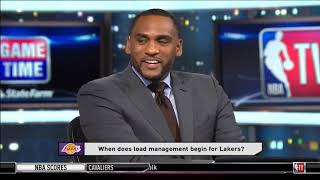 NBA Gametime - Steve Smith: When does load managemen begin for Lakers?