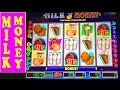 "DOUBLE/NOTHING: OLD CLASSIC ""MILK MONEY"" Slot Machine Bonus Videos"