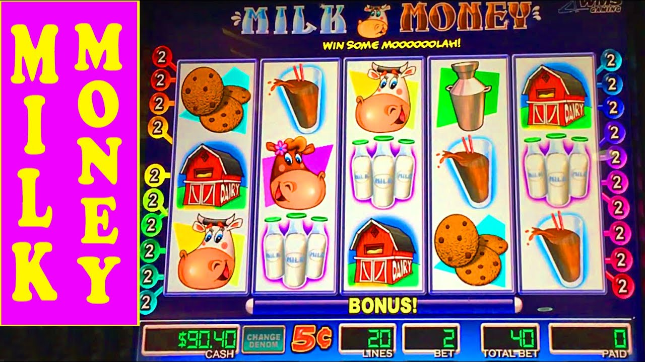 Milk Money Casino Game
