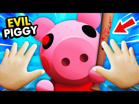 BABY Gets Attacked By PIGGY MONSTER In VIRTUAL REALITY (Funny Baby Hands VR Gameplay)