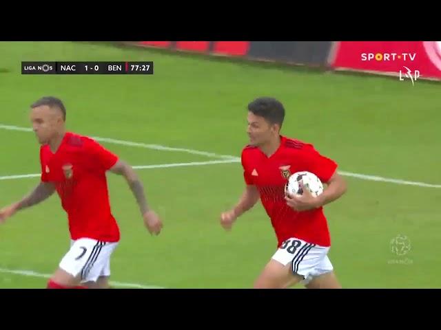 Goal | Golo Pedrão: CD Nacional 1-(1) Benfica (Liga 20/21 #32)