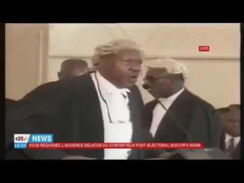 Barrister Ikome stole the show at the constitutional Council & talk of the southern Cameroon crisis