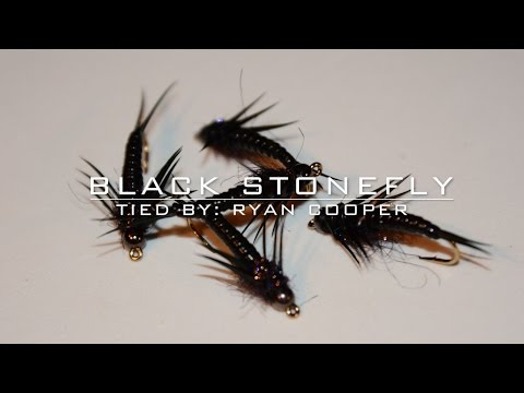 Fly Tying: Black Stonefly