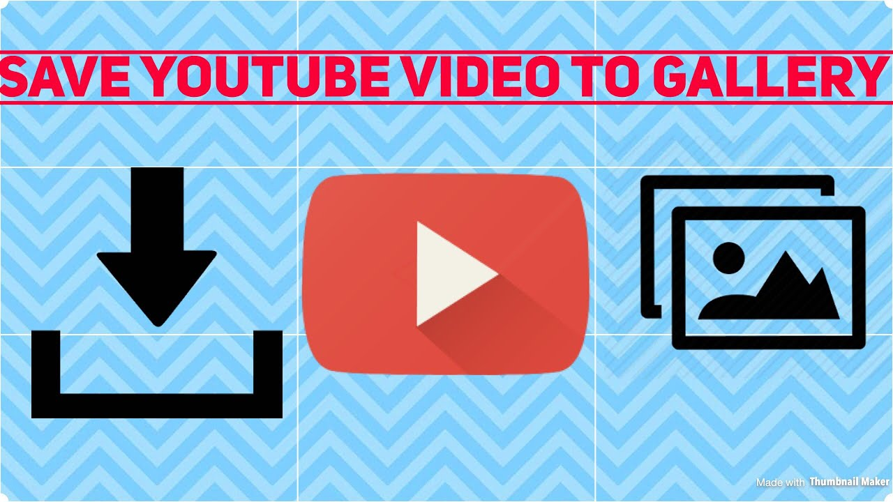 How to save YouTube videos to your gallery - YouTube