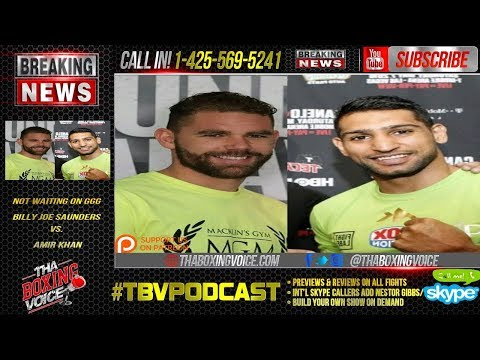 Billy Joe Saunders not waiting on GGG Calls Out Amir Khan (WTF)