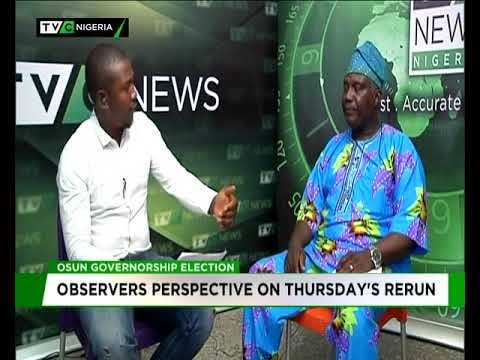 Observers' perspective on Osun governorship rerun
