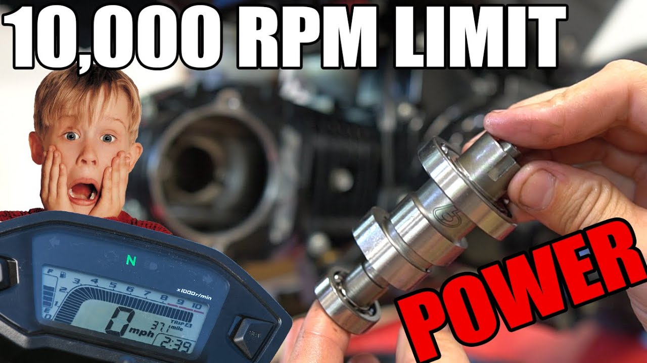10,000 Rev Limiter + T-Bolt Cam Install | Honda Grom