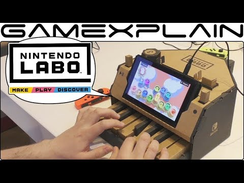 Nintendo Labo Hands On DISCUSSION - All The Toy-Cons!