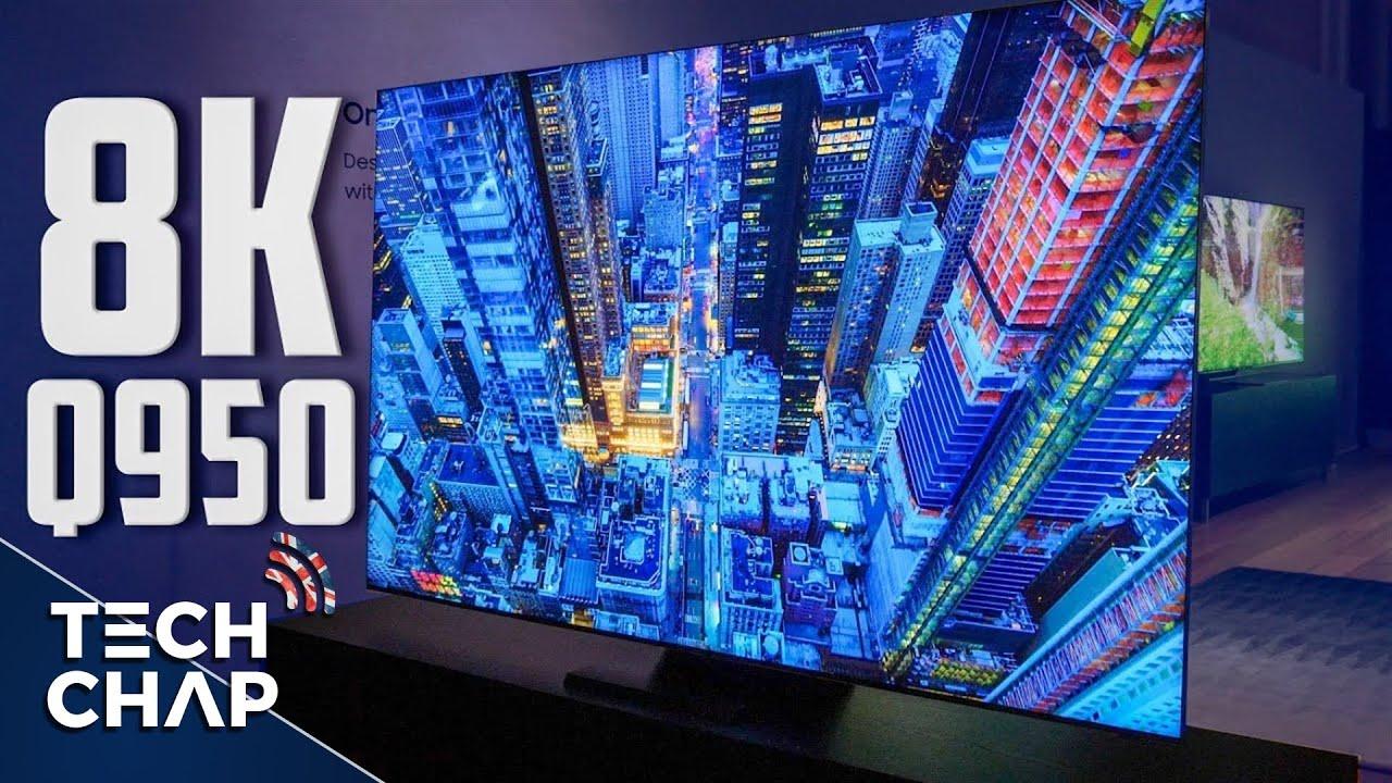 Le nouveau téléviseur QLED BEZELESS 8K de Samsung est SUPERBE! (et j'en veux un) | The Tech Chap + vidéo