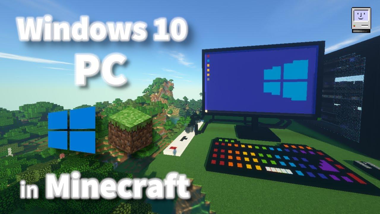 Windows 8 PC in Minecraft