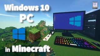 Windows 10 PC in Minecraft