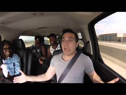 Rollin' With Whoopi and Mario Cantone!  Liza Minnelli Impressions