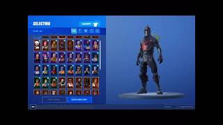 FORTNITE FREE OG ACCOUNT (BLACKY NIGHT/SAISON 1 SKINS) EMAIL AND PASSWORD IN DESCRIPTION