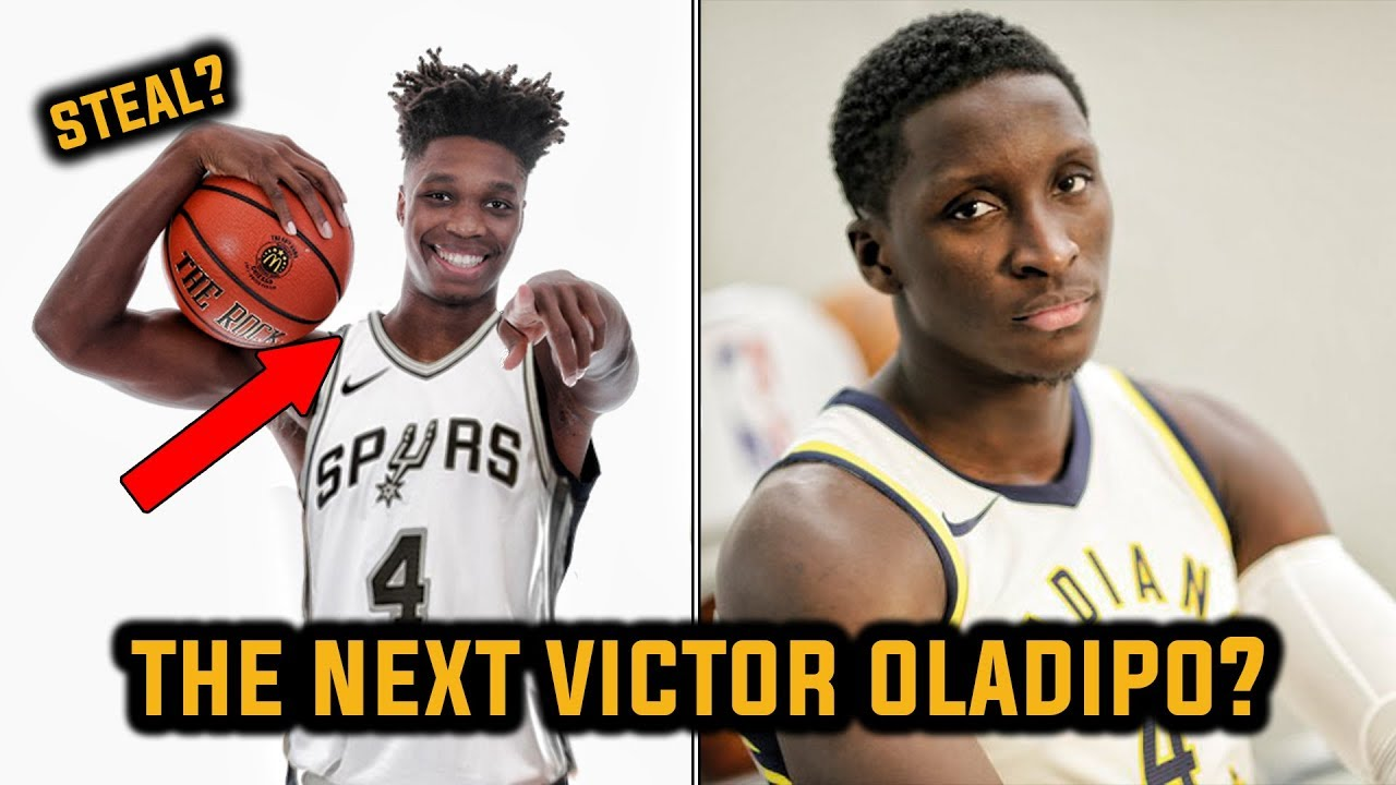 99b1989f074 Did the Spurs Just Find the Next Victor Oladipo  - YouTube