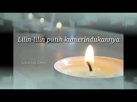 Lirik Lagu Lilin Lilin Putih - Evie Tamala ( Cover : Dewi Sekartaji )