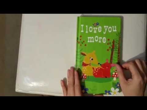 Reading story - I love you more