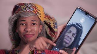 Download Lasizwe Dambuza Comedy - When they VIDEO CALL you because you're ONLINE (Lasizwe Dambuza)
