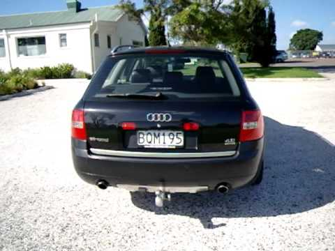 2003 Audi Allroad V8 7-seater - YouTube