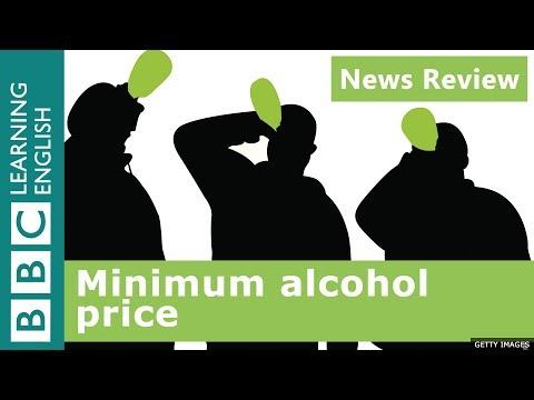 Minimum alcohol price: BBC News Review