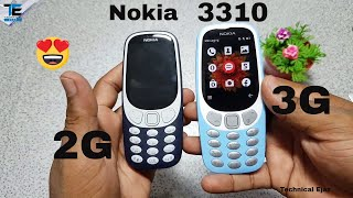 New Nokia 3310 3G 2018 Unboxing And Full Review Urdu/Hindi