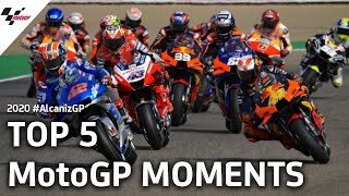 Top 5 MotoGP Moments | 2020 #AlcanizGP