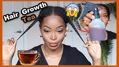 HAIR GROWTH TEA 😱Reduce Shedding |Perfect for Length Retention 😍 Highly Requested| Msnaturally Mary
