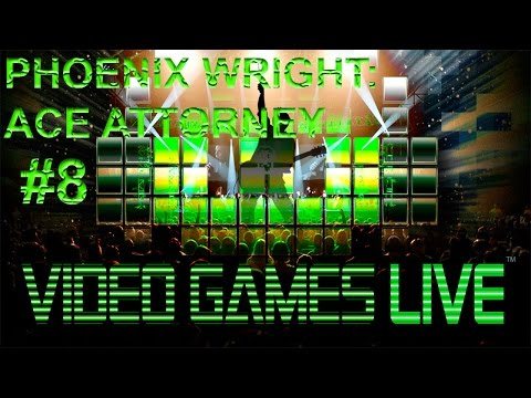 #8 PHOENIX WRIGHT: ACE ATTORNEY - VIDEO GAMES LIVE @ CAMPO PEQUENO, LISBOA 19/11/2016