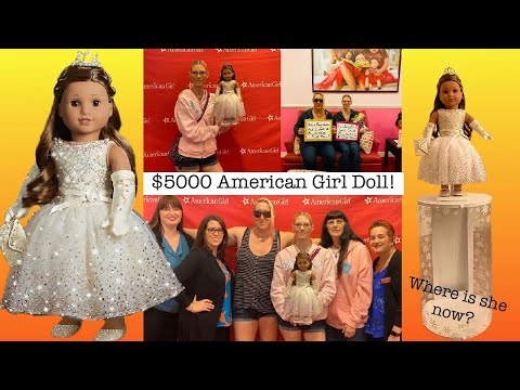 My Friend Bought The $5,000 American Girl Doll! ~Where Is She Now?