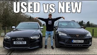 £40,000 audi rs6 vs cupra ateca. finance revealed! check out my parkers blog: https://www.parkers.co.uk/cupra/ateca/suv-2018/long-term-reviews/20-tsi...