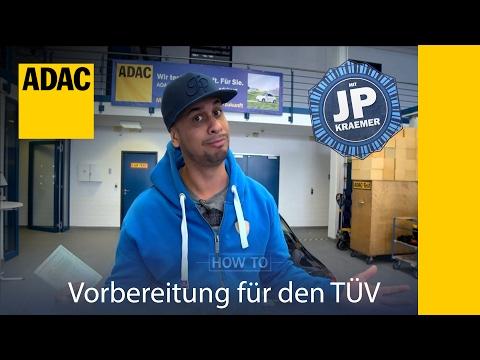 ADAC How To Vorbereitung für den TÜV  mit Jean Pierre Kraemer I ADAC