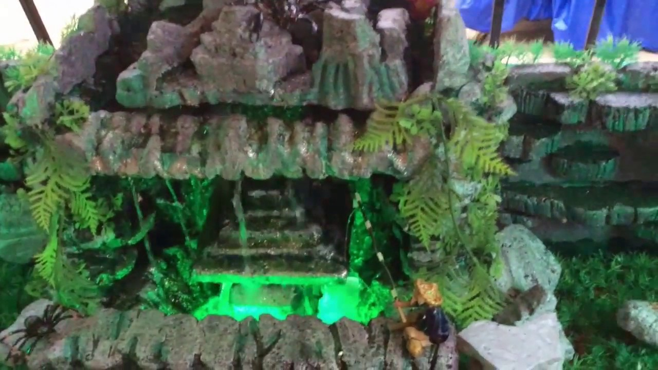Homemade Waterfalls - YouTube