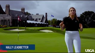 2020 U.S. Open All Access: Hally Leadbetter Plays Winged Foot East
