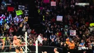 Wwe Raw 23/02/15 Roman Reigns & Daniel Bryan vs Randy Orton & Seth Rollins Part 1/2