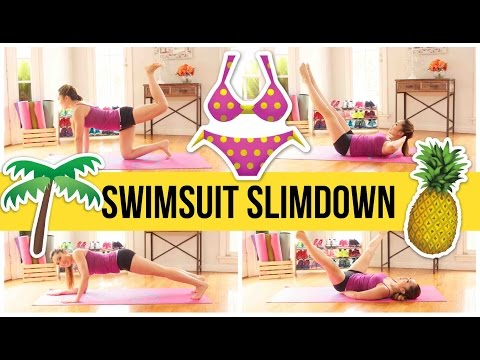 8 min bikini body workout! Swimsuit Slimdown Series