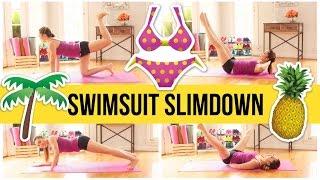 8 min bikini body workout! Swimsuit Slimdown Series